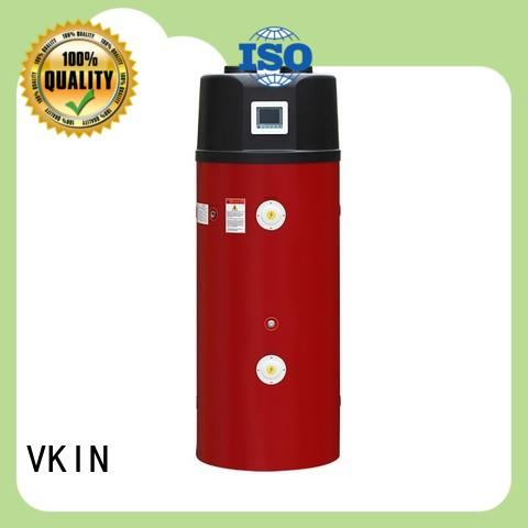 VKIN durable hybrid electric heat pump water heater easy maintenance for heating